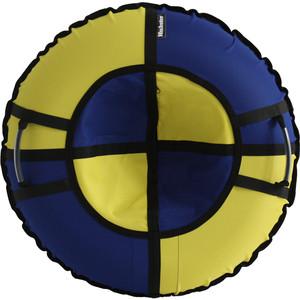 Тюбинг Hubster Хайп синий-желтый 100 см