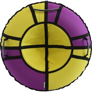 Тюбинг Hubster Хайп фиолетовый-желтый 110 см цены онлайн
