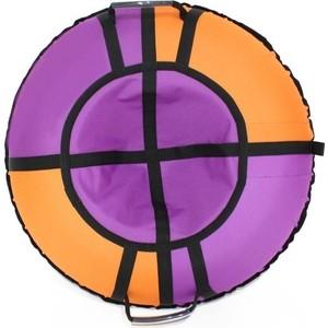 Тюбинг Hubster Хайп фиолетовый-оранжевый 120 см