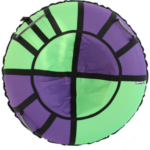 Тюбинг Hubster Хайп фиолетовый-салатовый 120 см