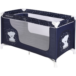 Манеж Lorelli Moonlight 1 Синий Dark Blue Teddy 1832 цена