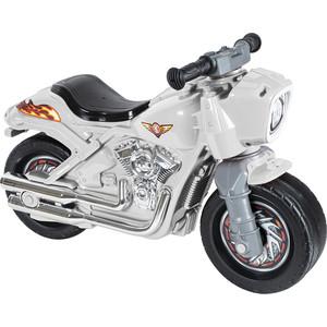 Каталка-мотоцикл RT ОР504 беговел Racer RZ 1 белый