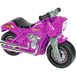 Фото - Каталка-мотоцикл RT ОР504 беговел Racer RZ 1 розовый каталка мотоцикл rt racer rz 1 полиция с музыкой цвет бело синий