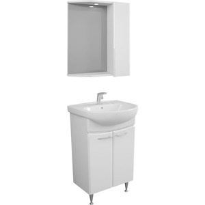 Мебель для ванной Меркана Болония 55 белая