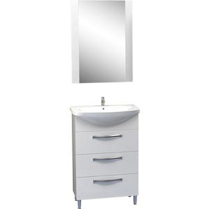 Мебель для ванной Меркана Квинта 50 белая, с 3 ящиками