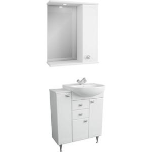 Мебель для ванной Меркана Астурия 70 белая, правая
