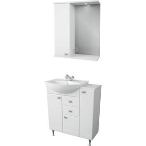 Мебель для ванной Меркана Астурия 75 белая, левая