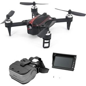 лучшая цена Радиоуправляемый квадрокоптер MJX Bugs 3 mini + FPV очки + FPV камера RTF 2.4G - B3mini-G3S