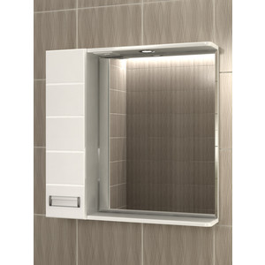 Зеркало-шкаф VIGO Венто 70 с подсветкой (18-700-Л)
