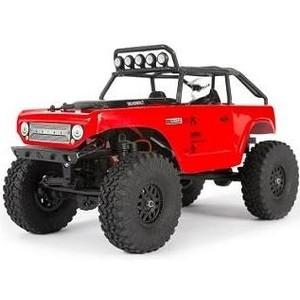 Радиоуправляемый трофи Axial SCX24 Deadbolt (красный) 4WD RTR масштаб 1:24 2.4G - AXI90081T1