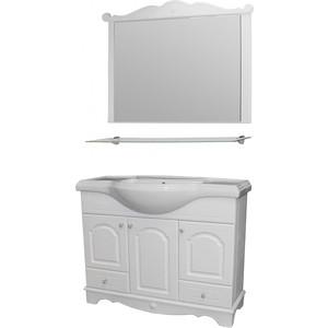Мебель для ванной Mixline Прованс 105 белая цена