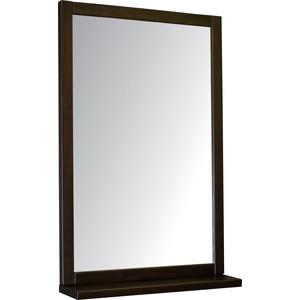 Зеркало навесное Мебелик BeautyStyle 5 темно-коричневый цены онлайн