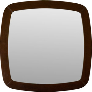 Зеркало навесное Мебелик BeautyStyle 6 темно-коричневый
