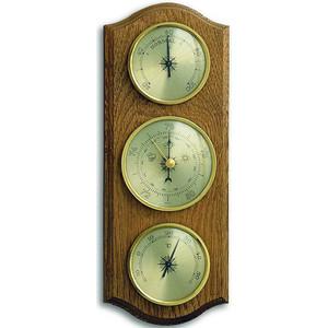 Метеостанция аналоговая TFA 20.1000.03.01, деревяная