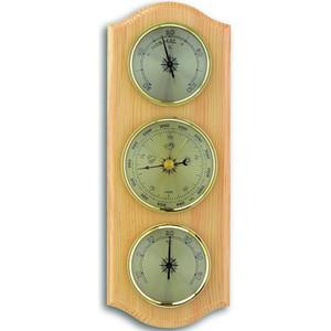 Метеостанция аналоговая TFA 20.1000.03.04, деревяная