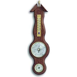 Метеостанция аналоговая TFA 20.1038, деревяная