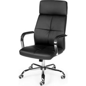 Кресло офисное NORDEN Алекс черная экокожа