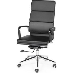 Кресло офисное NORDEN Зуум black черная экокожа