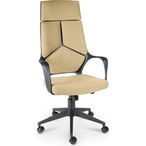 Кресло офисное NORDEN IQ черный пластик/слоновая кость ткань