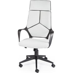 Кресло офисное NORDEN IQ black+grey черный пластик/серая ткань