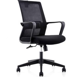 Кресло офисное NORDEN Интер LB/ черный пластик/черная сетка/черная ткань цена