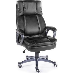 Кресло офисное NORDEN Мэдисон black серый пластик/черная экокожа кресло офисное norden шелби серый пластик черная экокожа оранжевая строчка