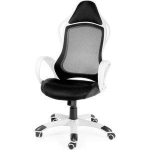 Кресло офисное NORDEN Спринт белый пластик/черная ткань/черная сетка николай оганесов играем в спринт