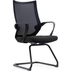 Кресло офисное NORDEN Спэйс CF/ черная краска/серая сетка/черная ткань