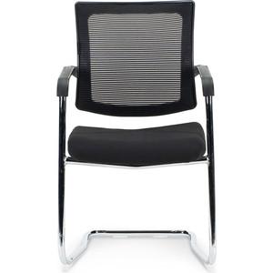 Кресло офисное NORDEN Вельд CF/ хром/черная сетка/черная ткань