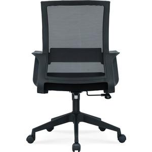 Кресло офисное NORDEN Стронг LB/ черный пластик/черная сетка/черная ткань цена