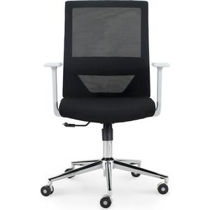 Кресло офисное NORDEN Трэнд grey LB/ серый пластик/черная сетка/черная ткань цена