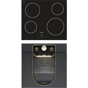 Встраиваемый комплект Bosch PKE611D17E + HBFN10BA0 цена и фото