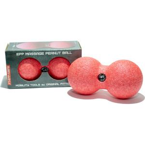 Мяч массажный Original FitTools сдвоенный 12 х 6 см розовый цилиндр original fittools массажный 45х12 7 см черный