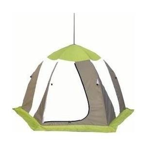 Палатка Митек Нельма 3 (автомат) (оранжевый/белый/серо-голубой)