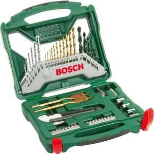 Набор бит и сверл Bosch 50шт X-Line Titanium (2.607.019.327) bosch titanium plus x line 50 2 607 019 327