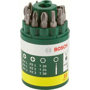 Набор бит Bosch 10шт + держатель (2.607.019.452) федосеева а информатика
