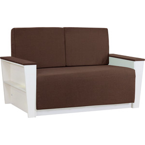Диван Шарм-Дизайн Бруно 2 рогожка коричневый
