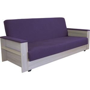 Диван-кровать Шарм-Дизайн Бруно ясень фиолетовый
