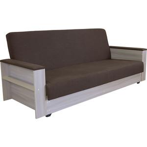 Диван-кровать Шарм-Дизайн Бруно ясень шоколад