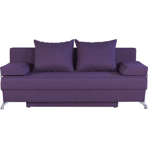 Диван-еврокнижка Шарм-Дизайн Евро лайт фиолетовый