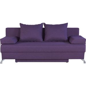 Диван-еврокнижка Шарм-Дизайн Евро лайт фиолетовый фото