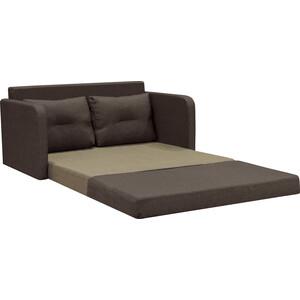 Диван Шарм-Дизайн Бит-2 шоколад кровать