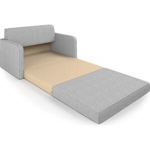 Диван Шарм-Дизайн Бит светло-серый кровать