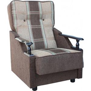 Кресло Шарм-Дизайн Классика ДП коричневая
