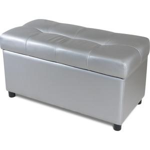 Пуф Шарм-Дизайн Рондо 70 серебро