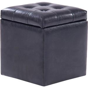 Пуф Шарм-Дизайн Шарм с ящиком черный