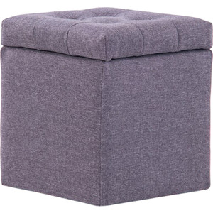Пуф Шарм-Дизайн Шарм с ящиком серый