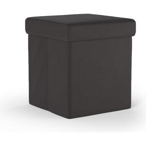 Пуф Шарм-Дизайн Пикник экокожа шоколад фото