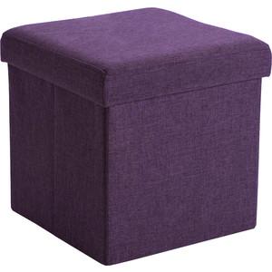 Пуф Шарм-Дизайн Пикник фиолетовый