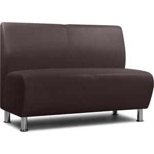 Модульный диван Шарм-Дизайн Гамма коричневый 2-х местный